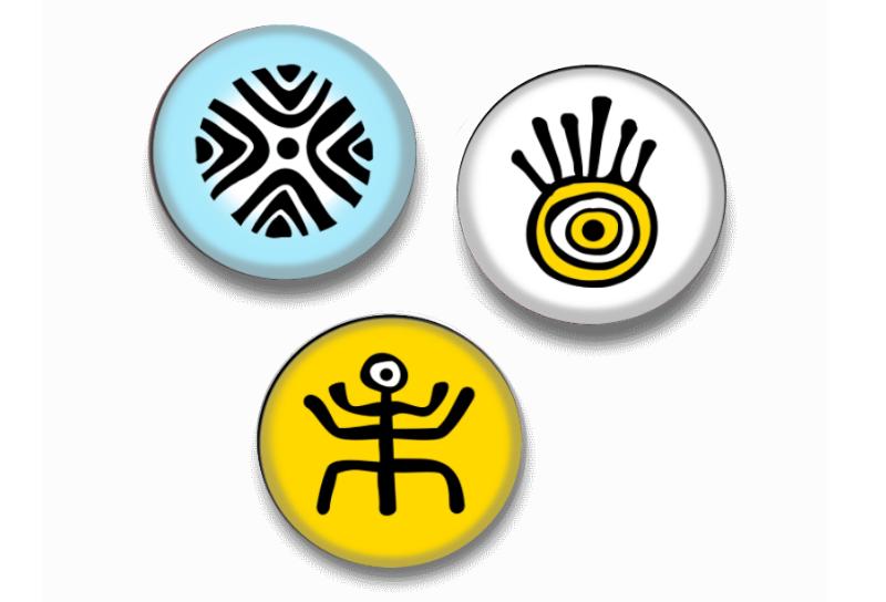 badges ethniques
