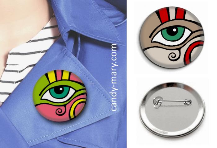 Badges Oeil