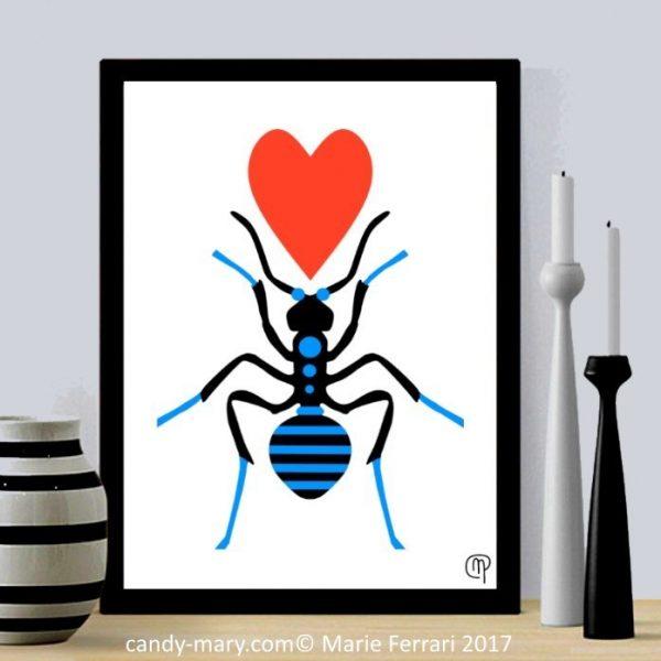 La fourmi amoureuse