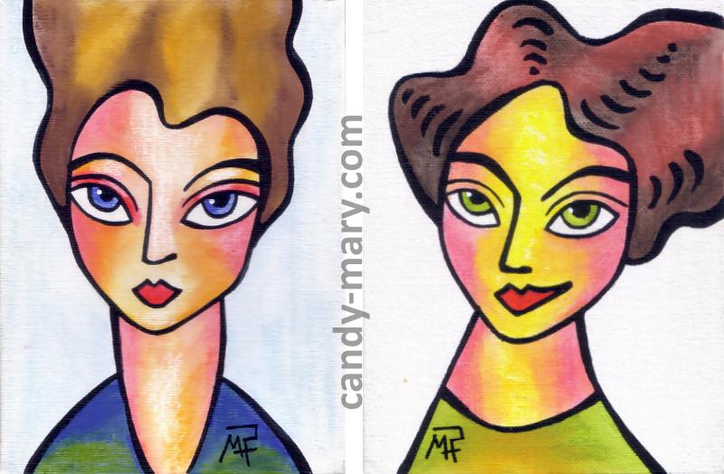 portraits naifs